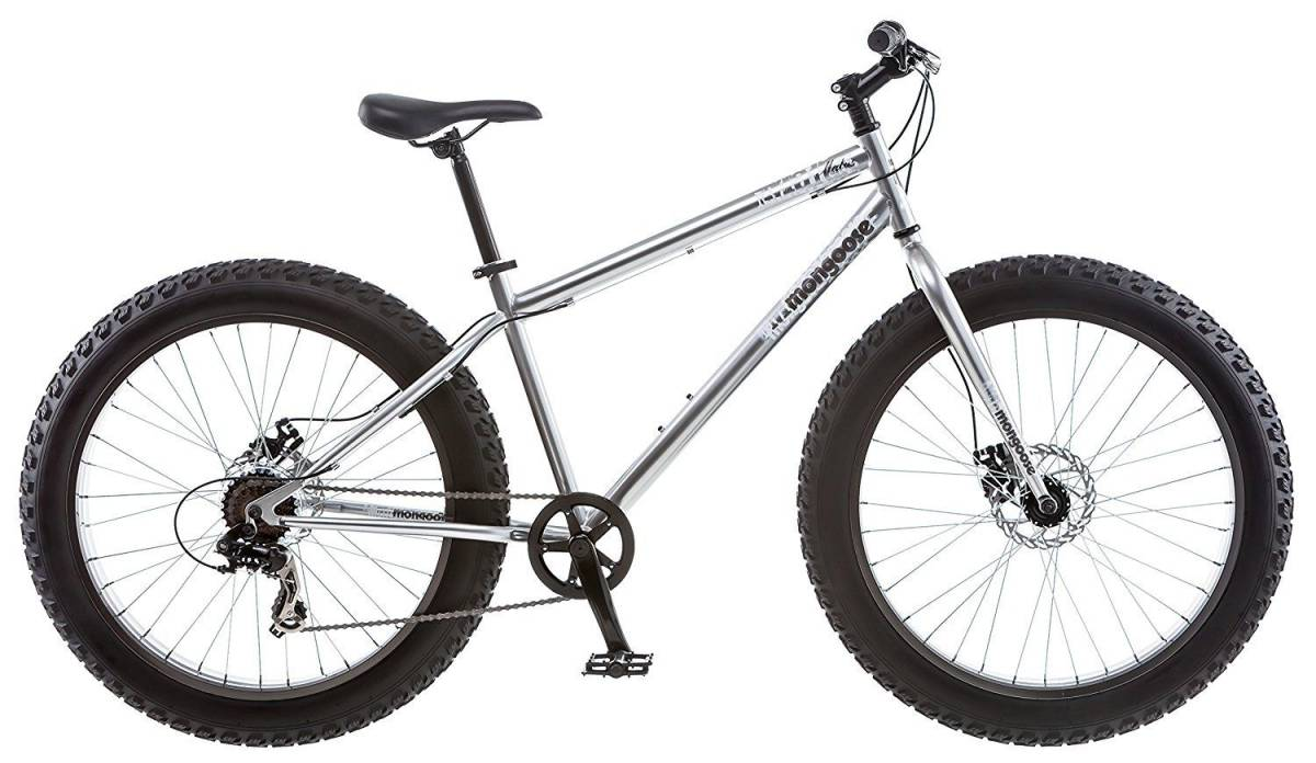 """BMX マングースメンズまたはボーイズMalus 26 """"7スピードファットタイヤクルーザー自転車BMXバイクNEW Mongo_新品・未使用品です!"""