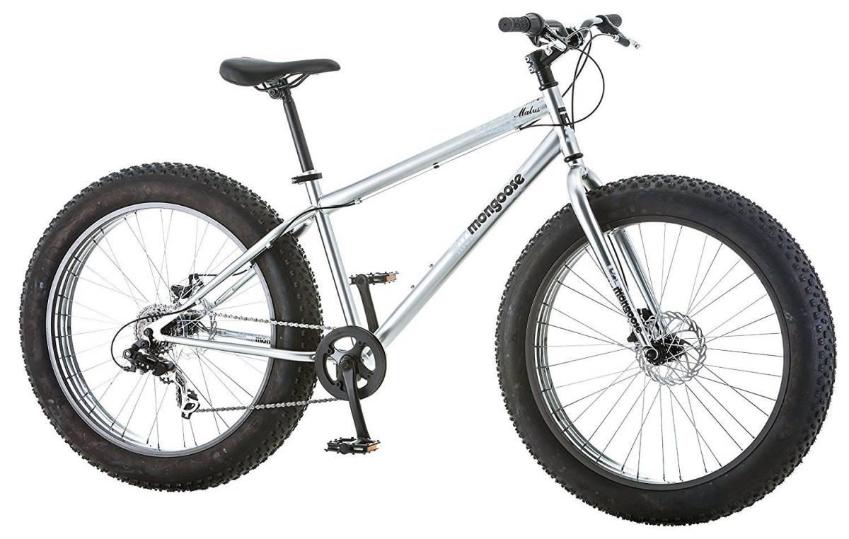"""BMX マングースメンズまたはボーイズMalus 26 """"7スピードファットタイヤクルーザー自転車BMXバイクNEW Mongo_画像3"""