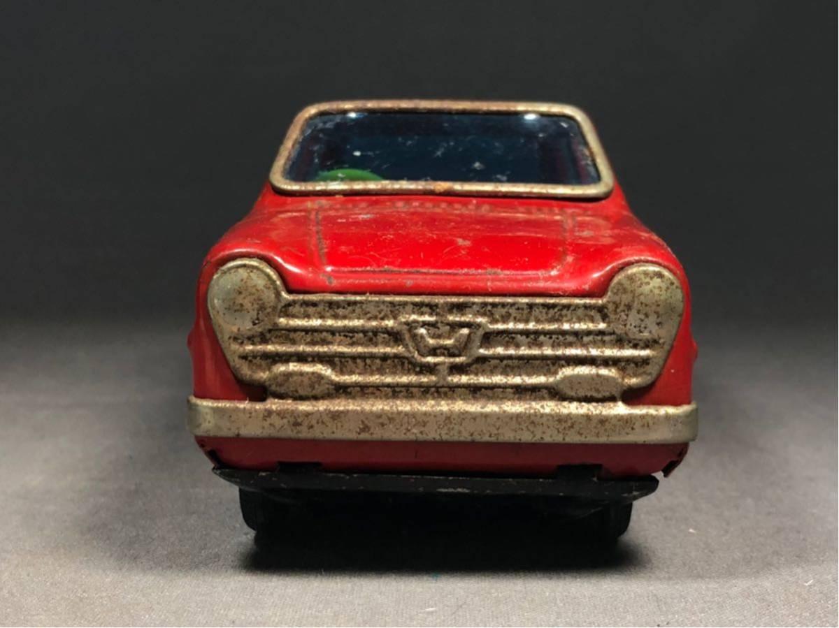 昭和レトロ 光球商会 HONDA N360 ブリキ 玩具 フリクション走行 日本製 JAPAN 当時物 ホンダ ビンテージ 自動車 稀少 レア Nコロ_画像9
