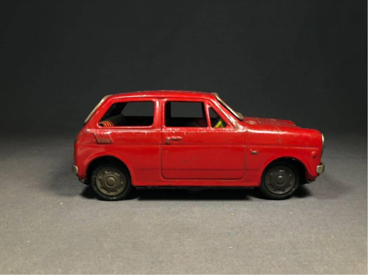昭和レトロ 光球商会 HONDA N360 ブリキ 玩具 フリクション走行 日本製 JAPAN 当時物 ホンダ ビンテージ 自動車 稀少 レア Nコロ_画像2