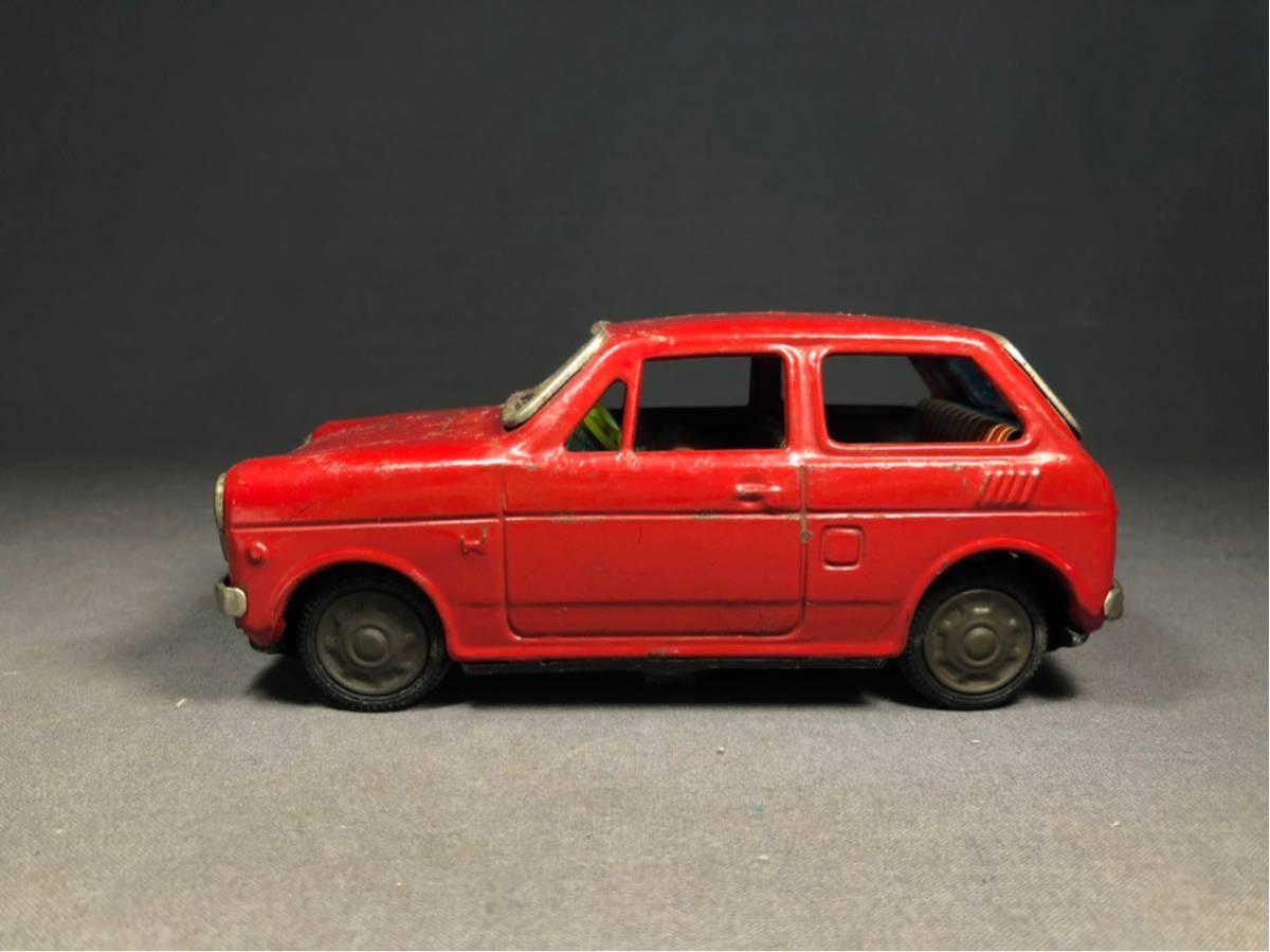 昭和レトロ 光球商会 HONDA N360 ブリキ 玩具 フリクション走行 日本製 JAPAN 当時物 ホンダ ビンテージ 自動車 稀少 レア Nコロ_画像3