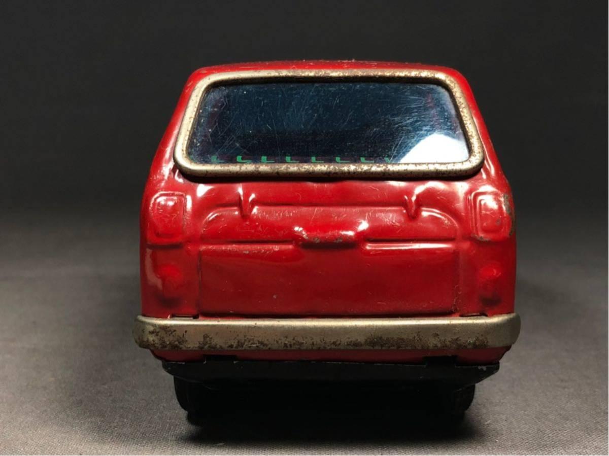 昭和レトロ 光球商会 HONDA N360 ブリキ 玩具 フリクション走行 日本製 JAPAN 当時物 ホンダ ビンテージ 自動車 稀少 レア Nコロ_画像10