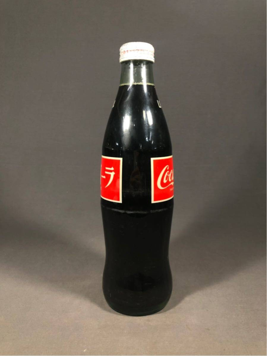 昭和レトロ コカコーラ Coca Cola 1LITER 1リットル 未開封 当時物 ビンテージ アンティーク 瓶 ボトル インテリア 駄菓子屋 飲料水_画像5