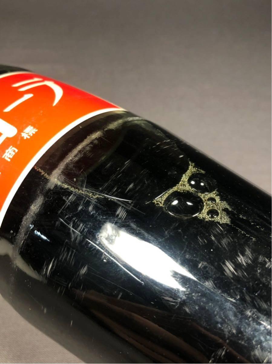 昭和レトロ コカコーラ Coca Cola 1LITER 1リットル 未開封 当時物 ビンテージ アンティーク 瓶 ボトル インテリア 駄菓子屋 飲料水_画像10