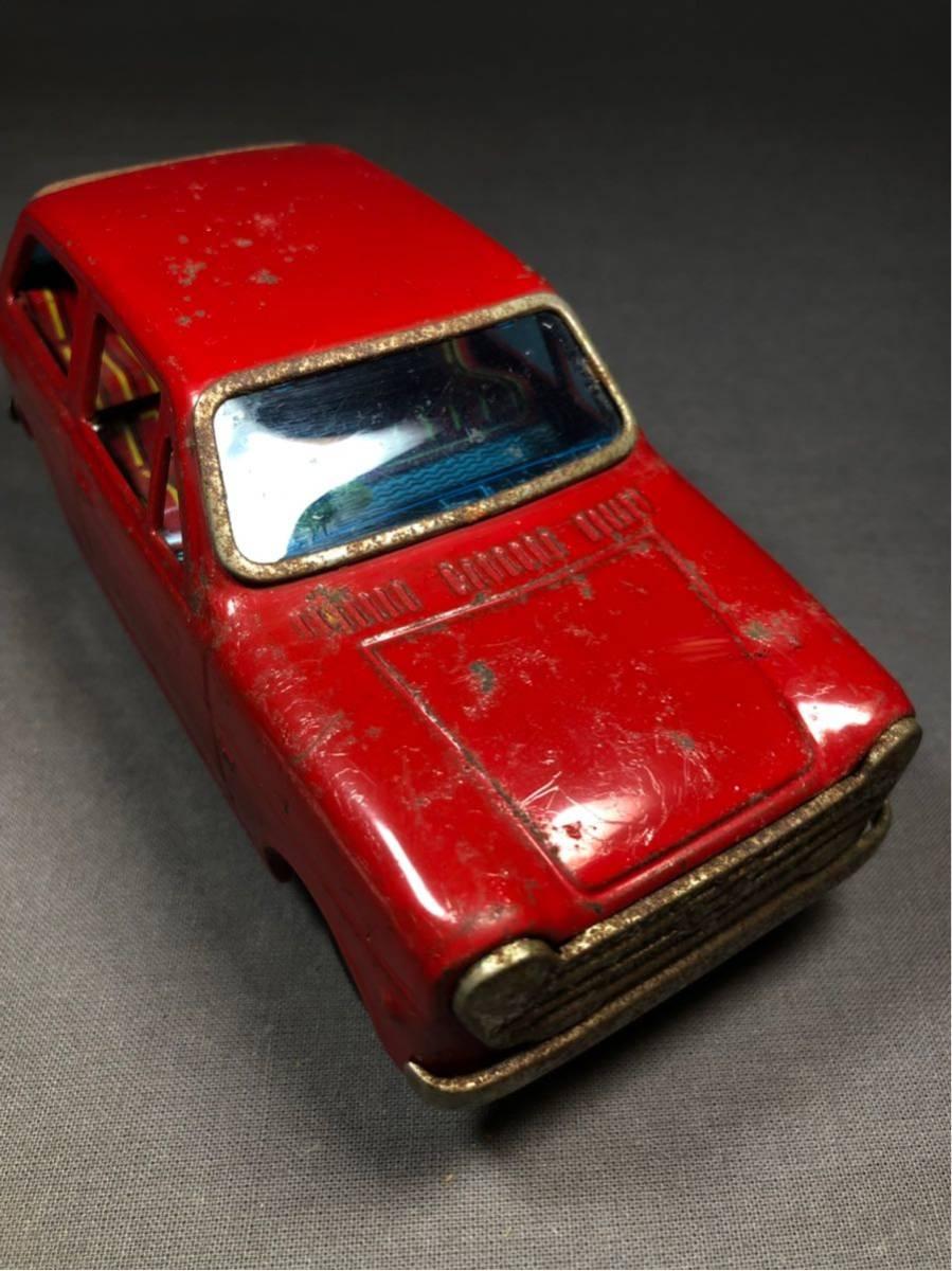 昭和レトロ 光球商会 HONDA N360 ブリキ 玩具 フリクション走行 日本製 JAPAN 当時物 ホンダ ビンテージ 自動車 稀少 レア Nコロ_画像5