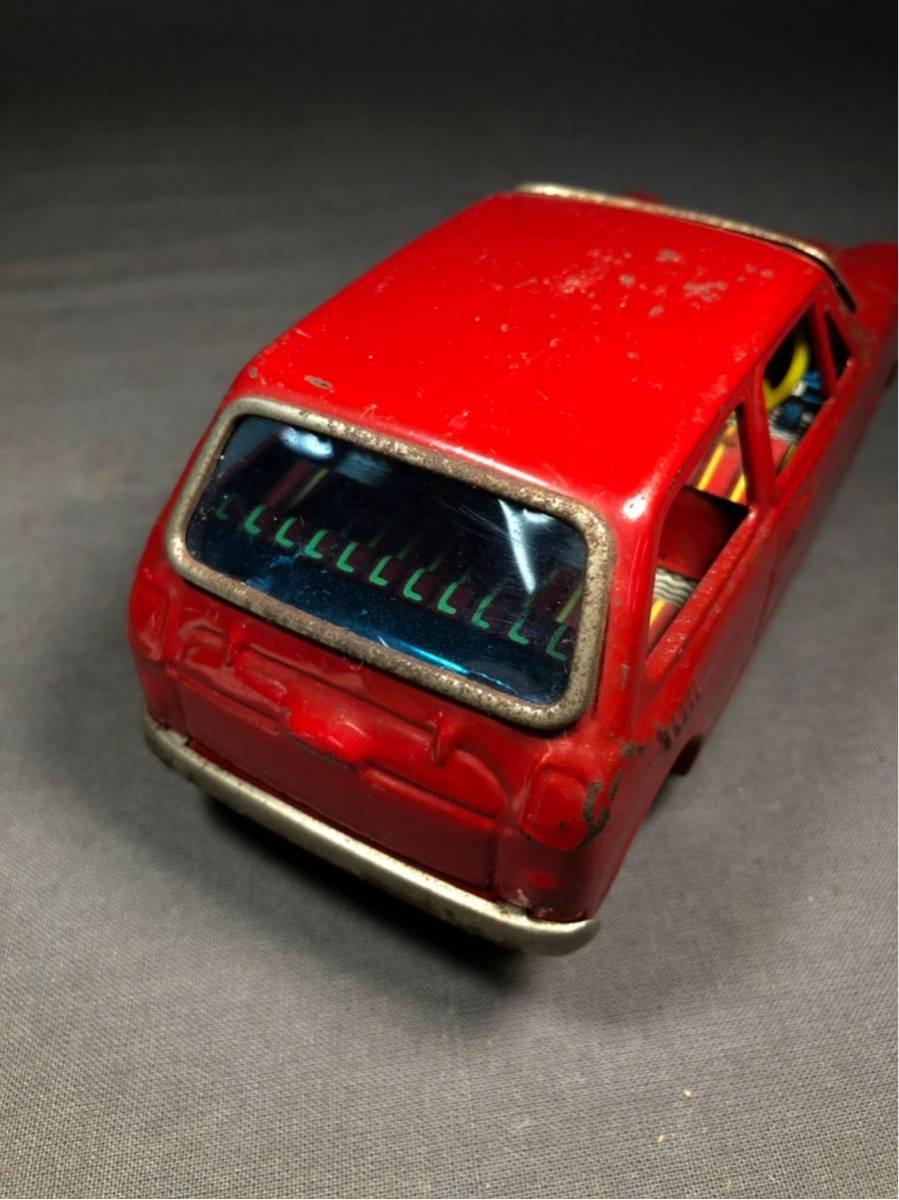 昭和レトロ 光球商会 HONDA N360 ブリキ 玩具 フリクション走行 日本製 JAPAN 当時物 ホンダ ビンテージ 自動車 稀少 レア Nコロ_画像6
