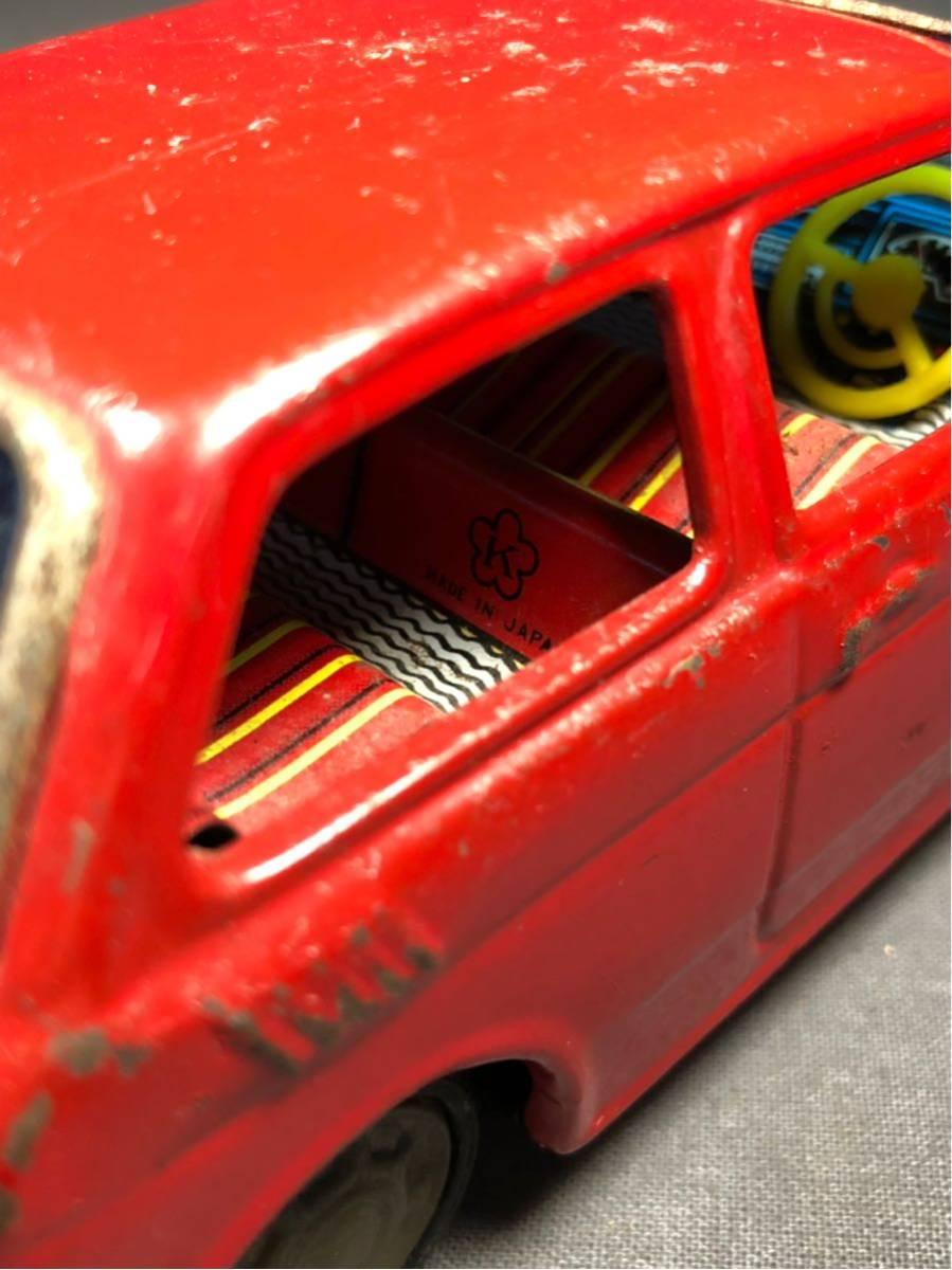 昭和レトロ 光球商会 HONDA N360 ブリキ 玩具 フリクション走行 日本製 JAPAN 当時物 ホンダ ビンテージ 自動車 稀少 レア Nコロ_画像7