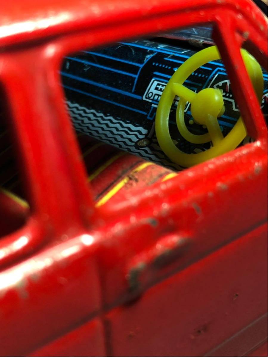 昭和レトロ 光球商会 HONDA N360 ブリキ 玩具 フリクション走行 日本製 JAPAN 当時物 ホンダ ビンテージ 自動車 稀少 レア Nコロ_画像8