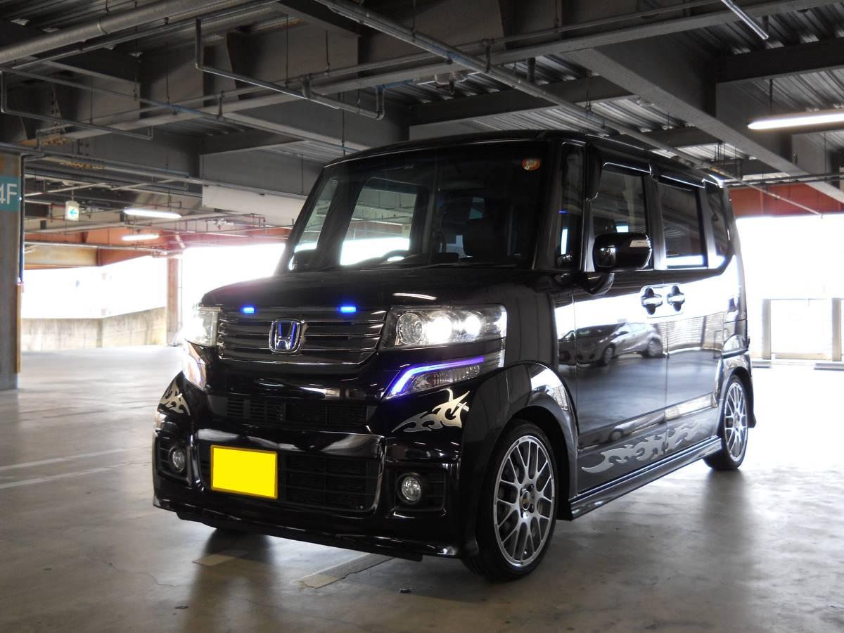 格安 24年 N-BOX カスタム 4WD Gターボパッケージ 車検31年7月 売り切り !_画像5