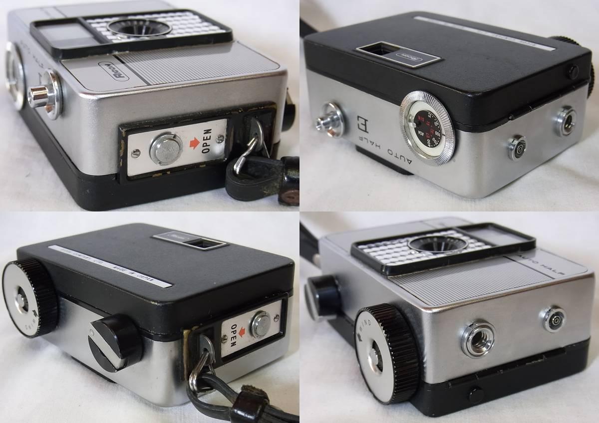 リコー オート ハーフ E/RICOH AUTO HALF E (25mm f2.8) キャップ/リストストラップ付_画像7