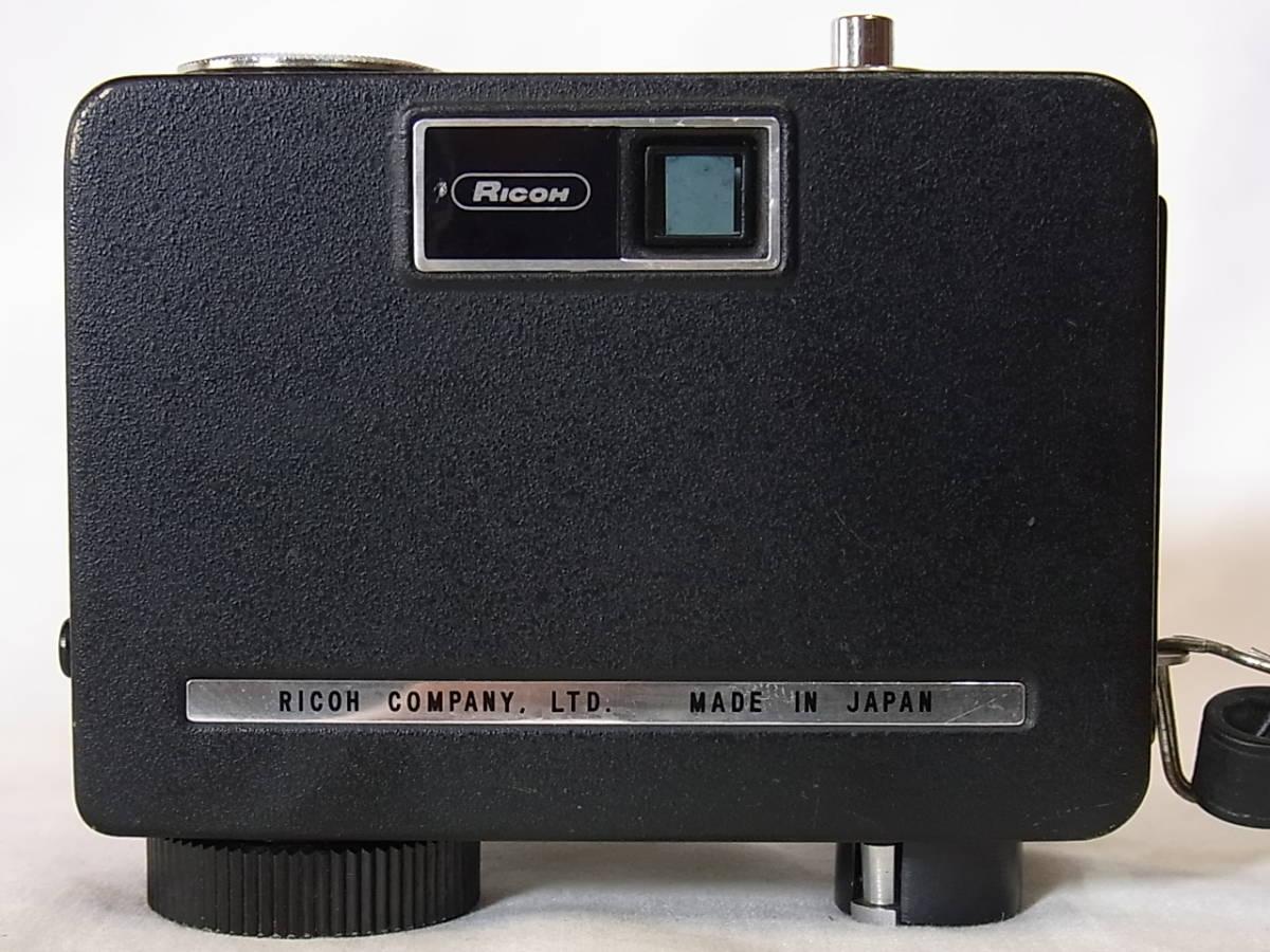 リコー オート ハーフ E/RICOH AUTO HALF E (25mm f2.8) キャップ/リストストラップ付_画像3