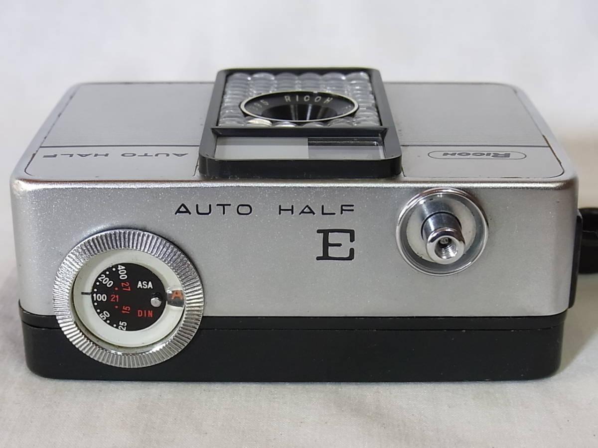リコー オート ハーフ E/RICOH AUTO HALF E (25mm f2.8) キャップ/リストストラップ付_画像4