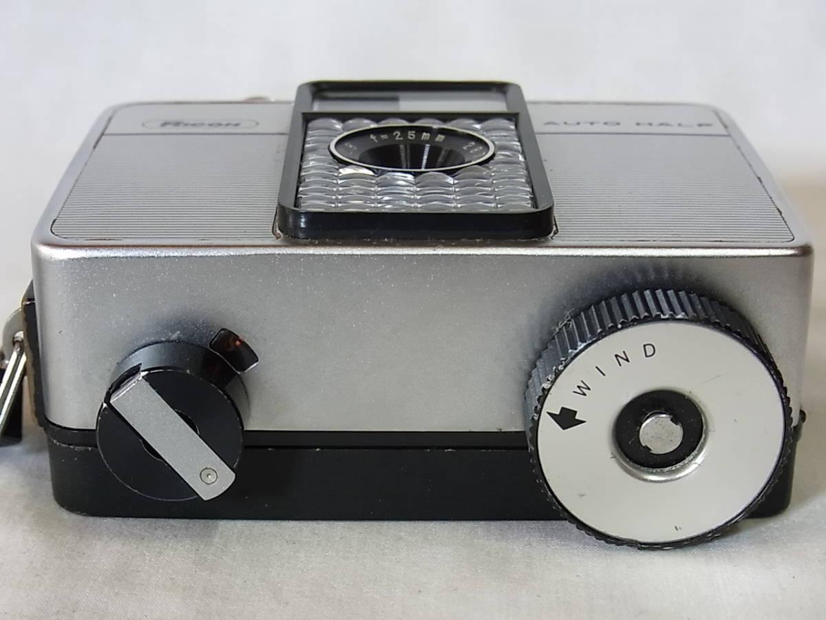リコー オート ハーフ E/RICOH AUTO HALF E (25mm f2.8) キャップ/リストストラップ付_画像5
