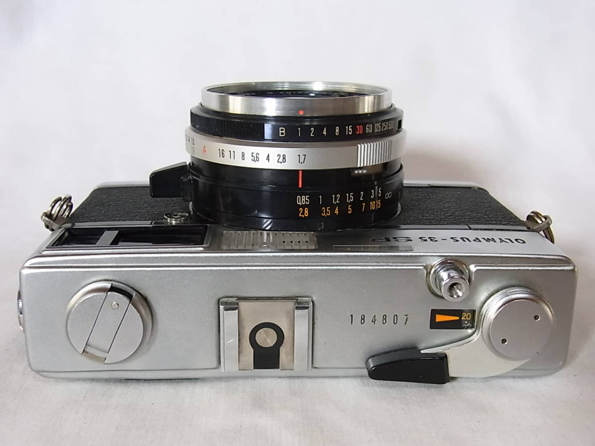 難有 オリンパス/OLYMPUS-35 SP (G.Z.uiko 42mm f1.7) フィルター/ケース付 18480_画像4