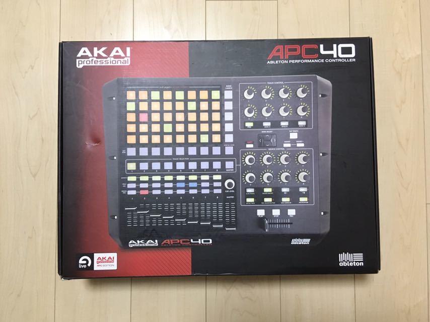 ☆ AKAI APC40 ☆ MIDIコントローラー 中古品_画像8