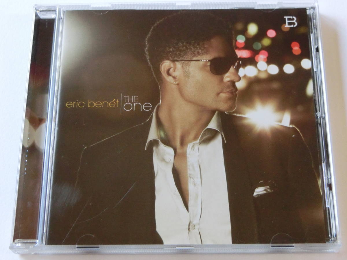 eric benet■THE ONE■輸入盤(feat.LIL WAYNE/INDIA BENET/他)