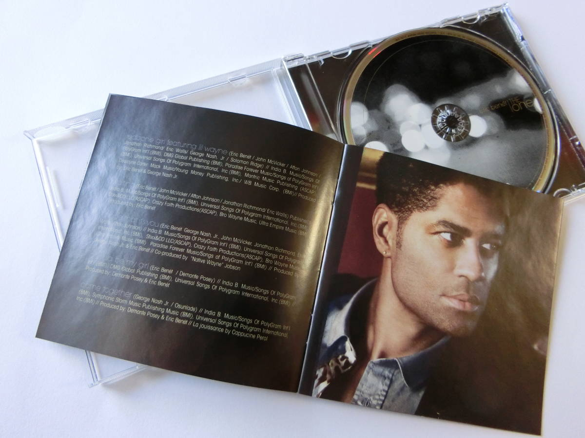 eric benet■THE ONE■輸入盤(feat.LIL WAYNE/INDIA BENET/他)_画像3