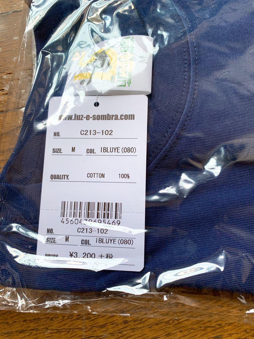 ルースイソンブラ luz e sombra Tシャツ luzesombra フットサル サッカー 新品 メンズ M 青 ローカルサポート シャツ フットボーリスタ_画像2