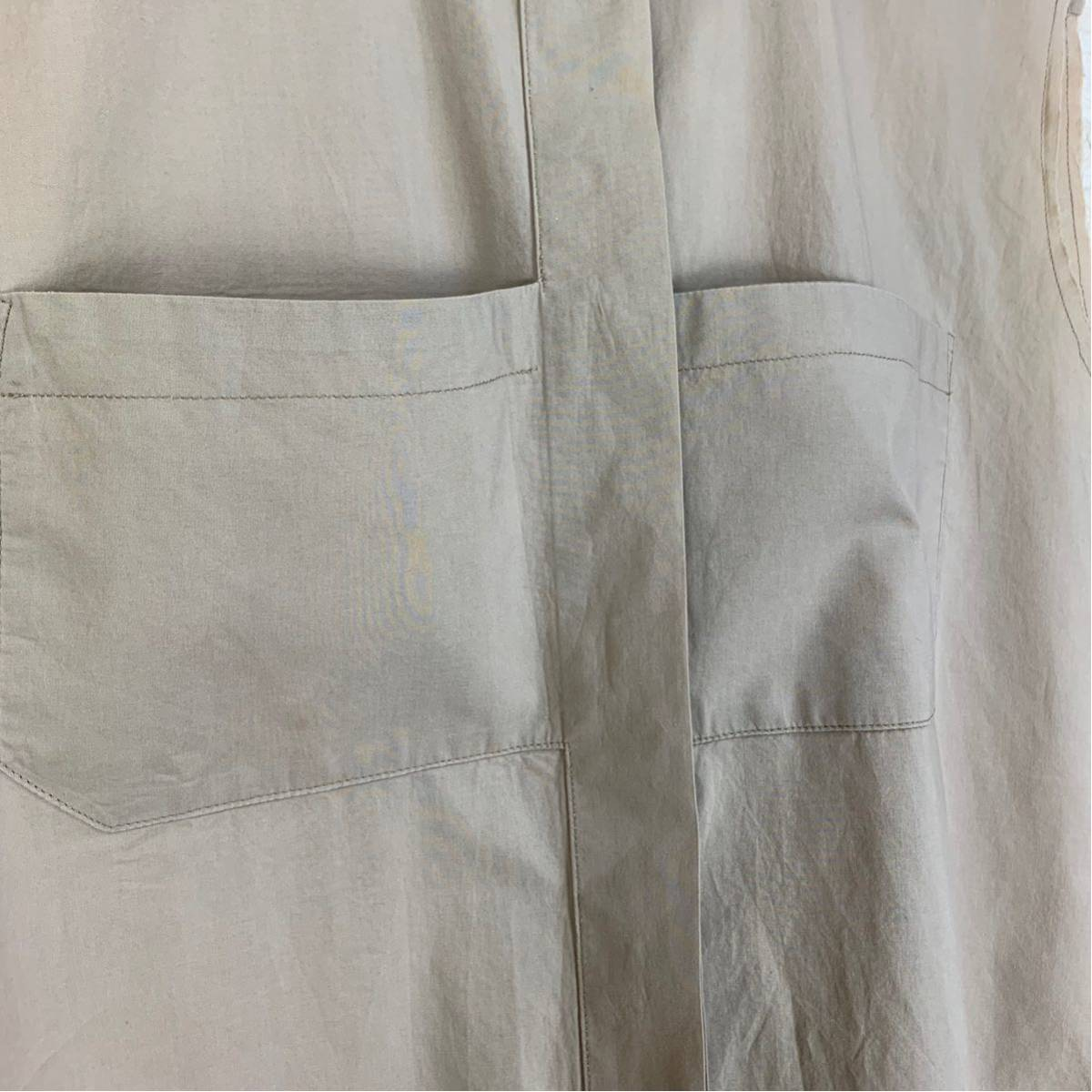 Martin Margiela 初期 変形カットオフシャツ 白タグ 2003SS アーティザナル Maison メゾンマルタンマルジェラ 1円スタート レディース _画像5