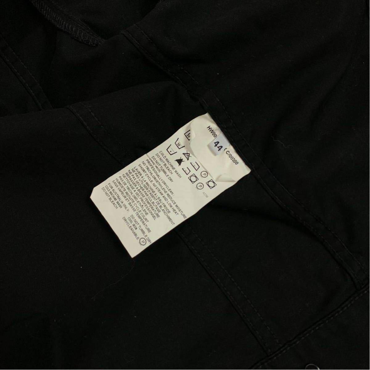 Helmut Lang 初期 ペンキペイント ジャケット コットン ブラック ヘルムートラング イタリア製 本人期 アーカイブ 1円スタート メンズ_画像8