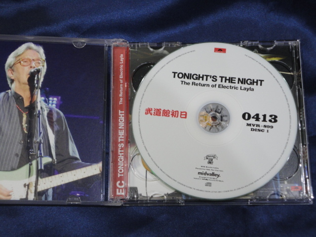 Mid Valley 2CD-R Eric Clapton Tonight's The Night The Return of Electric Layla_画像2