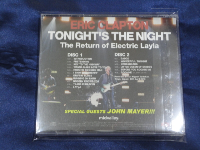 Mid Valley 2CD-R Eric Clapton Tonight's The Night The Return of Electric Layla_画像3
