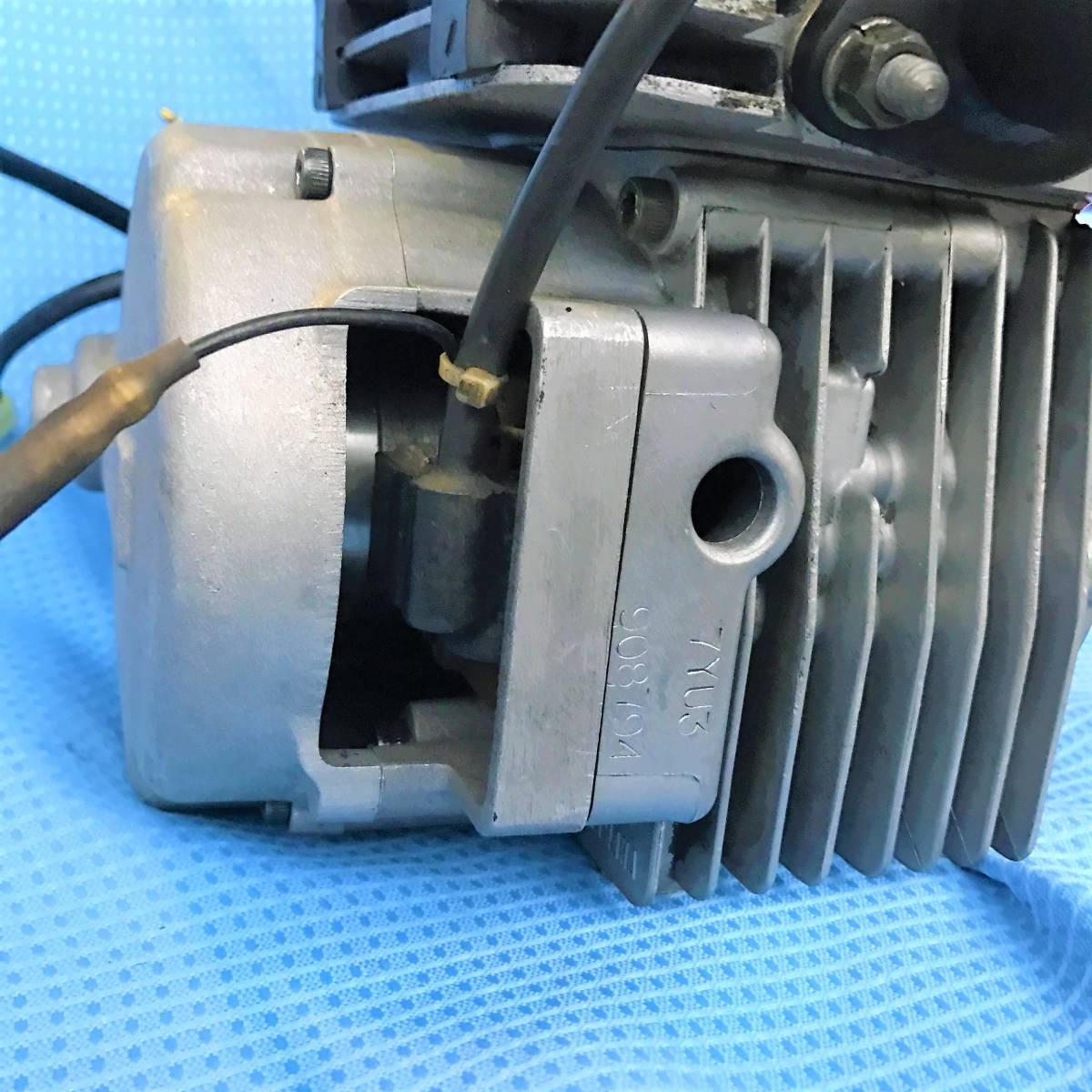 即決 ヤマハ 新型SLクラッチ KT100SEC 中古美品 ピストンノーマル オーバーホール済み クランク芯だし 1/1000mm セル 電装品セット_画像5