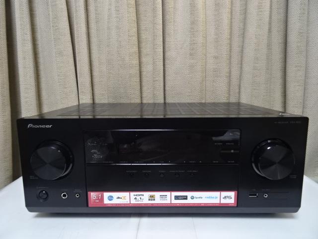 パイオニア VSX-832 展示品1年保証 Dolby Atmos、DTS:Xに対応した5.1chAVレシーバー_画像3