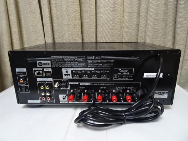 パイオニア VSX-832 展示品1年保証 Dolby Atmos、DTS:Xに対応した5.1chAVレシーバー_画像8