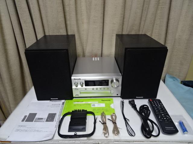 Panasonic パナソニック SC-PMX80S ハイレゾ対応ミニコンポ 展示品 1年保証 _画像3