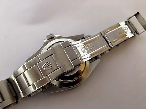 上品質/美品 ROLEX ロレックス サブマリーナ 16610T F番 日本ロレックスOH見積 完全オリジナル 王冠透かしマーク _画像7