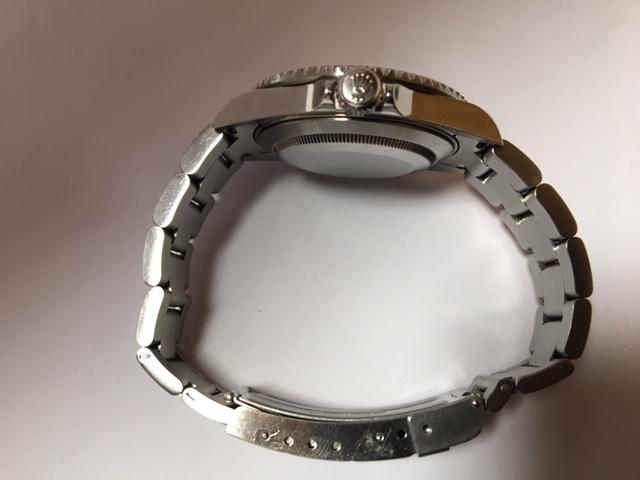 上品質/美品 ROLEX ロレックス サブマリーナ 16610T F番 日本ロレックスOH見積 完全オリジナル 王冠透かしマーク _画像8