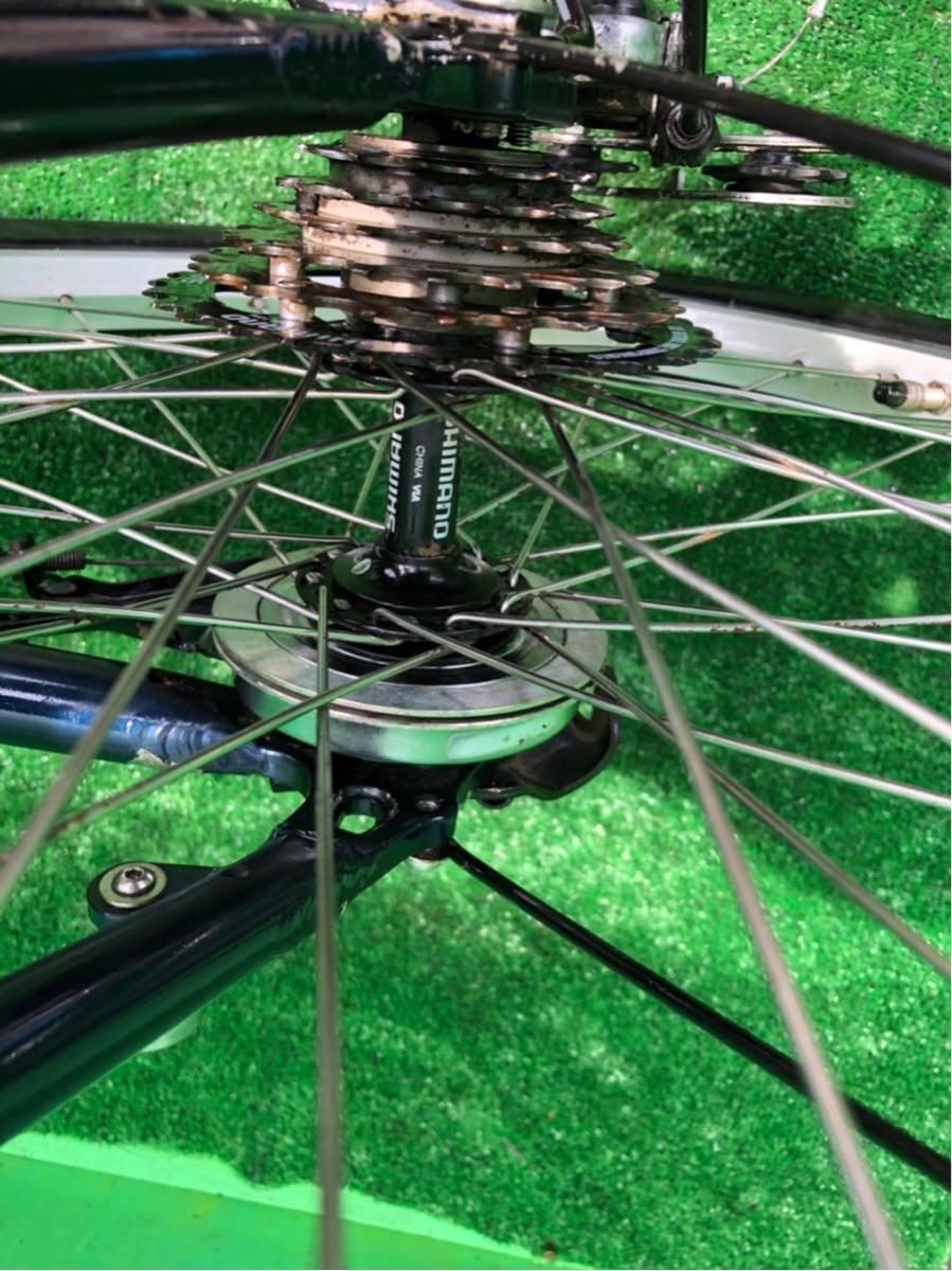 パナソニック電動自転車 20インチ 6段ギヤ 折りたたみ式 コン_画像4