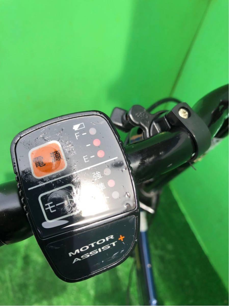 パナソニック電動自転車 20インチ 6段ギヤ 折りたたみ式 コン_画像2