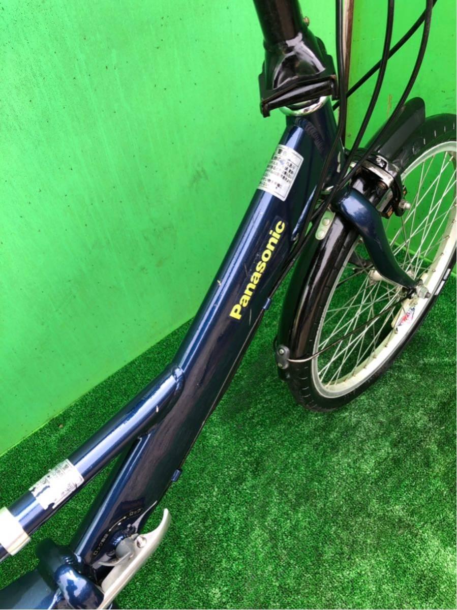 パナソニック電動自転車 20インチ 6段ギヤ 折りたたみ式 コン_画像5
