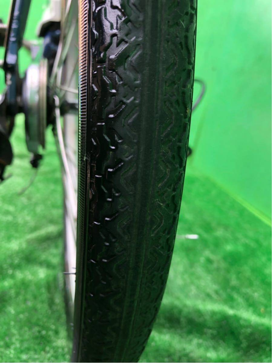 パナソニック電動自転車 20インチ 6段ギヤ 折りたたみ式 コン_画像8