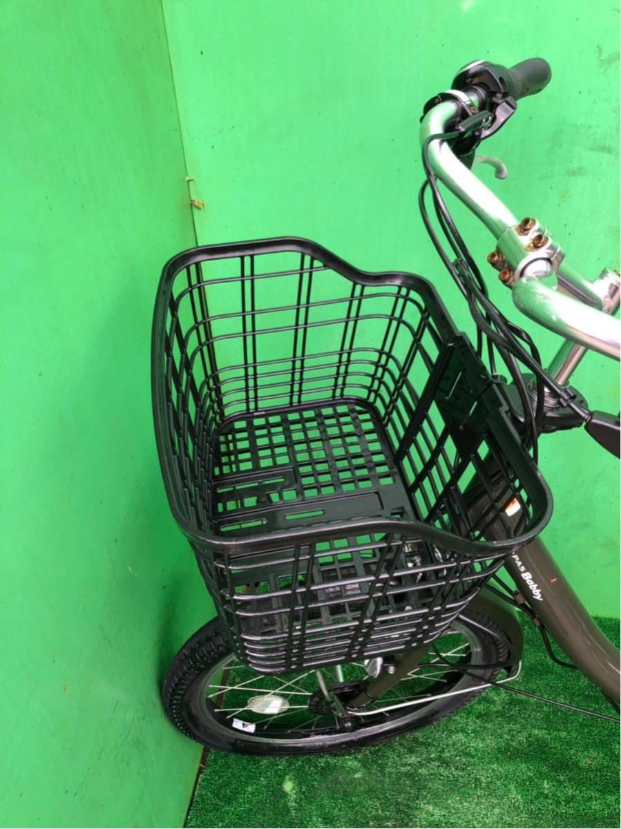 ヤマハ電動自転車 20インチ グリーン_画像3