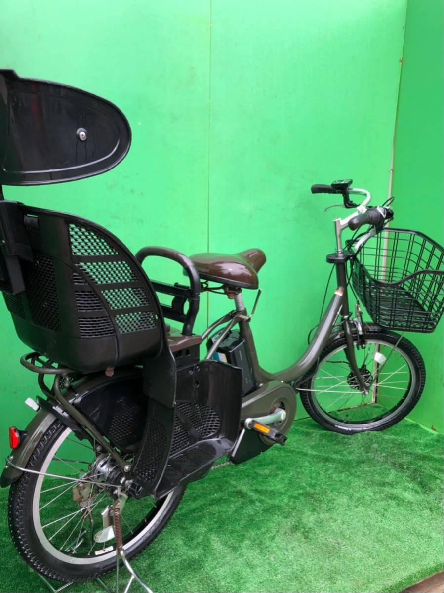 ヤマハ電動自転車 20インチ グリーン_画像10