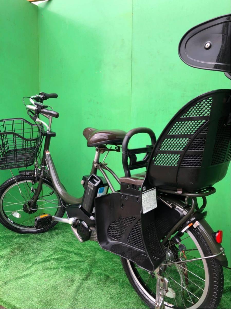 ヤマハ電動自転車 20インチ グリーン_画像9