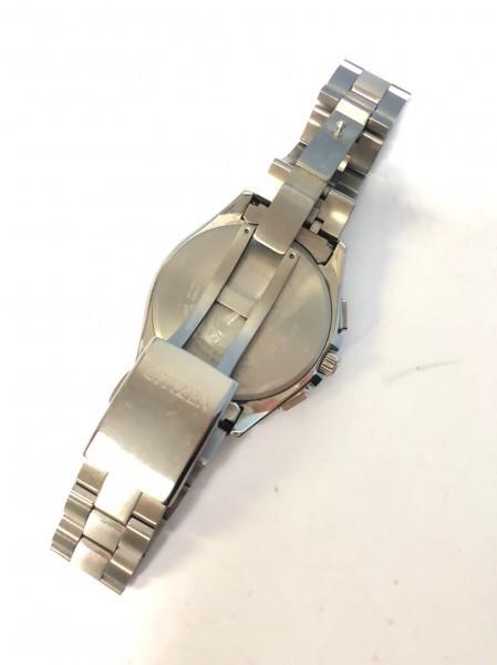 34271 CITIZEN ATTESA ECO-DRIVE シチズン アテッサ エコドライブ 腕時計 黒 ソーラー 電波 H804-T018696 稼働中_画像4