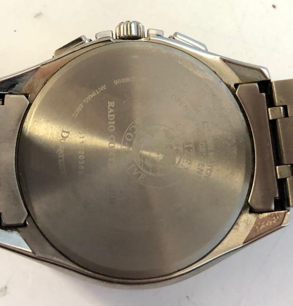 34271 CITIZEN ATTESA ECO-DRIVE シチズン アテッサ エコドライブ 腕時計 黒 ソーラー 電波 H804-T018696 稼働中_画像2