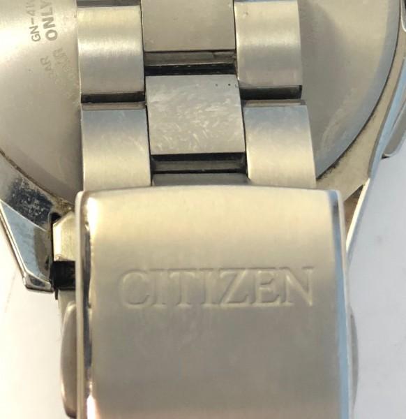 34271 CITIZEN ATTESA ECO-DRIVE シチズン アテッサ エコドライブ 腕時計 黒 ソーラー 電波 H804-T018696 稼働中_画像9
