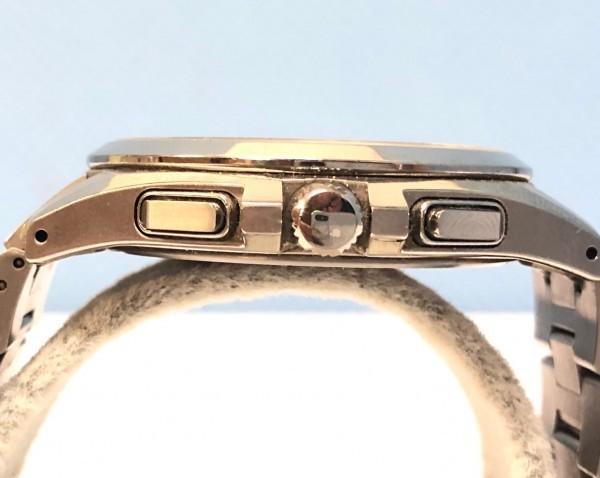 34271 CITIZEN ATTESA ECO-DRIVE シチズン アテッサ エコドライブ 腕時計 黒 ソーラー 電波 H804-T018696 稼働中_画像8