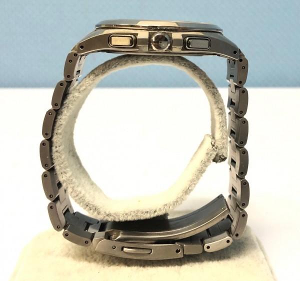 34271 CITIZEN ATTESA ECO-DRIVE シチズン アテッサ エコドライブ 腕時計 黒 ソーラー 電波 H804-T018696 稼働中_画像6