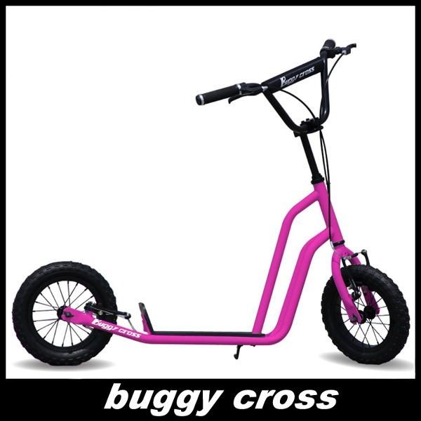 【新品1円~】Buggycross バギークロス アルメリアピンク 12inch新感覚キックスクーター キックボード レジャー アウトドア No.2