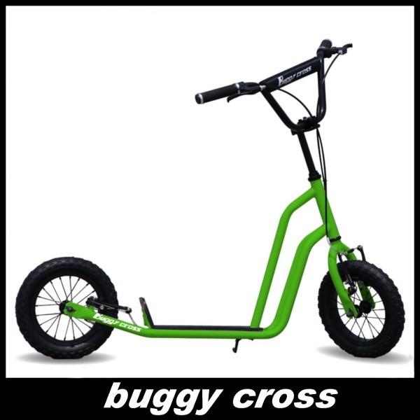 【新品1円~】Buggycross バギークロス ライムグリーン 12inch新感覚キックスクーター キックボード レジャー アウトドア No.2