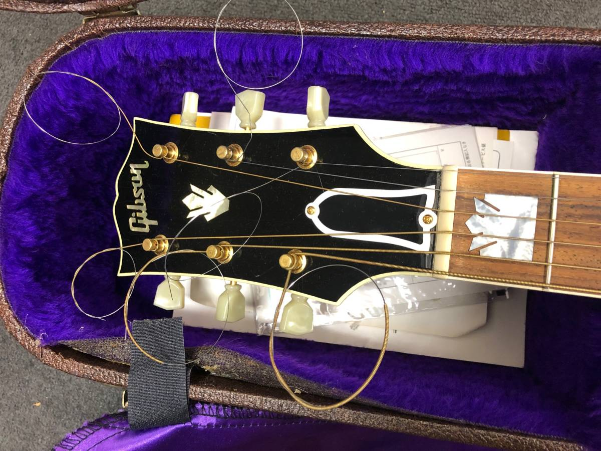 【8036】Gibson/ギブソン クラッシックギター 1996年製 LTD58-J-200VS 中古品 写真要確認 送料別途記載 180サイズ 簡易包装発送_画像6