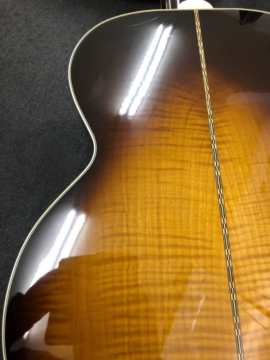 【8036】Gibson/ギブソン クラッシックギター 1996年製 LTD58-J-200VS 中古品 写真要確認 送料別途記載 180サイズ 簡易包装発送_画像10