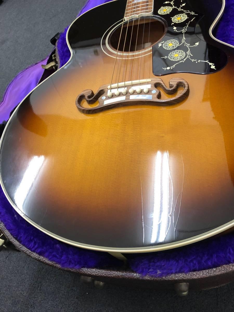 【8036】Gibson/ギブソン クラッシックギター 1996年製 LTD58-J-200VS 中古品 写真要確認 送料別途記載 180サイズ 簡易包装発送_画像4