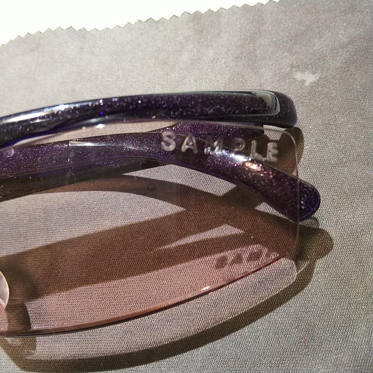 在庫少 小さなサンプル印タイプ1.32倍紫送料185円からハズキルーペコンパクトサンプルカラーレンズ本体のみでカタログつきません。_画像5